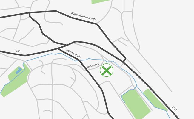 Karte Herscheid